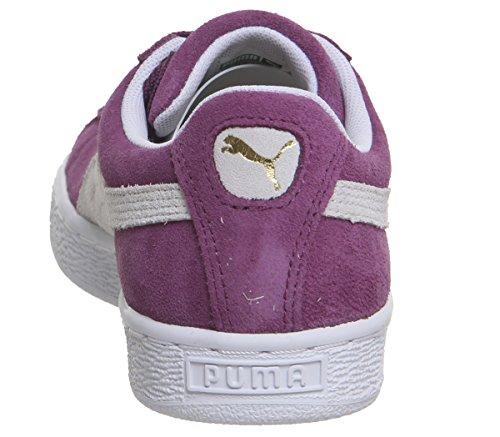 Basses Bisou Adulte Puma Blanc Suede Puma Mixte Raisins Classic Baskets SSBnx