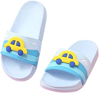 Cwait Kids Summer Cute Animal Slippers Home Bedroom Slippers Open Toe