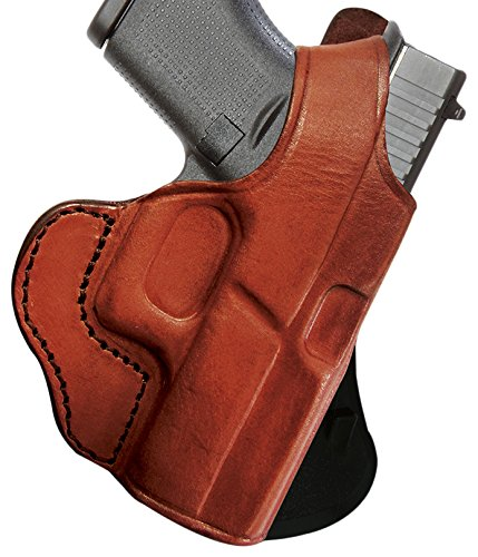 Tagua PD1R-357 Glock 43-9mm Brown Right Hand Rotating Thumb Break Paddle Holster ()