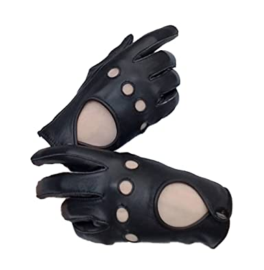 08d710c9c Women Lady s soft genuine Sheep leather Driving gloves at Amazon ...