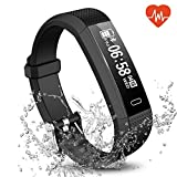 Fitness Tracker, Waterproof Activity Tracker Smart Sports Band with Heart Rate HR Sleep