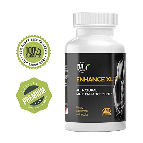 Enhance XL | Potent Powerful Male Pills | Improved Sex Life | Increased Energy | Horny Goat Weed | Longer Harder Erection| Growth Enhancer | Penis Enhancement | Low Testosterone Booster | Tongkat Ali