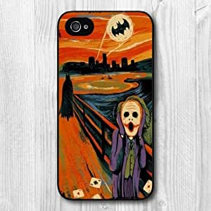 iphone covers New Fashion Design Scream Pattern Protective Hard Phone Cover Skin Case For Iphone 5c +Screen Protector