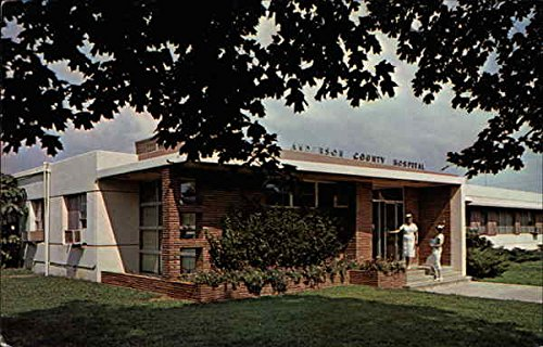 The Anderson County Hospital, junction U.S. 59 and Fifth Avenue Original Vintage - Avenue 59 Fifth
