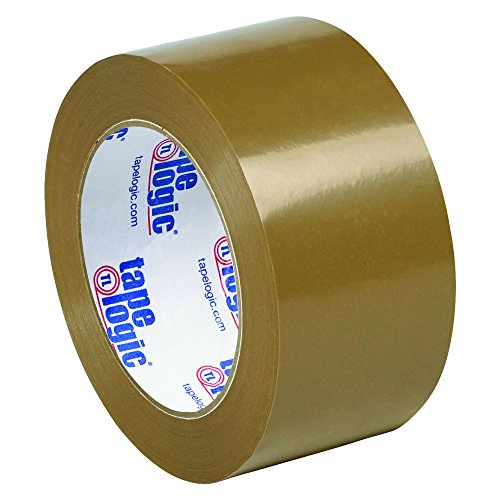 Aviditi T90250T6PK Tan Tape Logic Natural Rubber Tape, 1.9 mil, 2