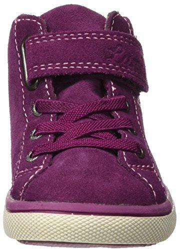 Lurchi Mädchen Shanty-Tex Hohe Sneaker Violett (DK.Pink)