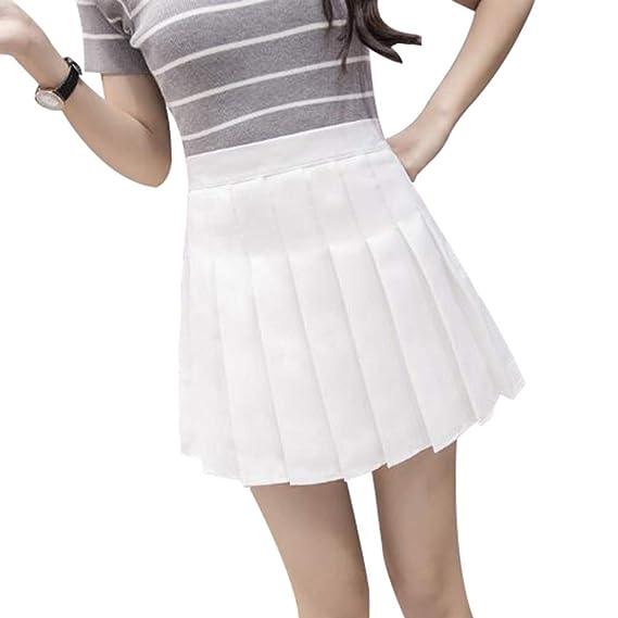 1221ba57f Yying Mini Faldas Plisadas Cintura Alta Ppantalones Cortos Suaves ...