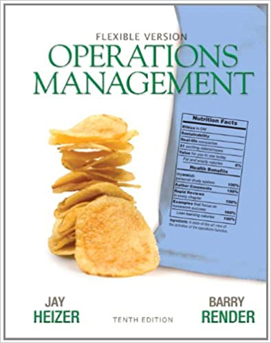 Operations management flexible version 10th edition jay heizer operations management flexible version 10th edition jay heizer barry render 9780132163927 amazon books fandeluxe Gallery