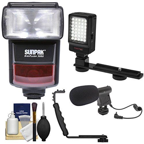 Sunpak DigiFlash 3000 i-TTL Electronic Flash Unit with LED V