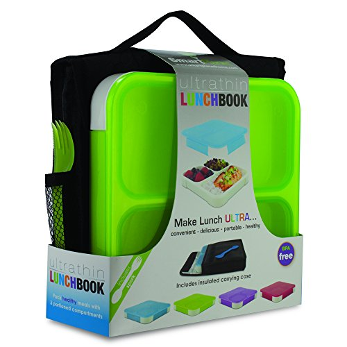Smart Planet Ultrathin Lunchbook, Green