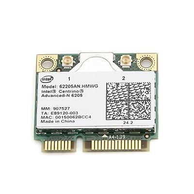 New Intel® Centrino® Advanced-N 6205 62205AN.HMWG WIFI Wireless N Wlan Card Dual-band 2.4/5.0 GHz 802.11a/b/g/n 300 Mbps by Intel