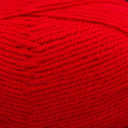 Plymouth (1-Pack) Encore Worsted Yarn Christmas Red 1386-1P Plymouth Encore Worsted Yarn
