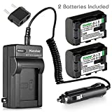 Kastar BN-VG114 Battery (2-Pack) and Charger Kit for JVC BN-VG107 BN-VG107U BN-VG108U BN-VG108E BN-VG114 BN-VG114U BN-VG114US Rechargeable Lithium-ion Battery