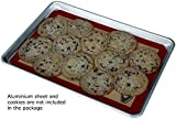 Silicone Baking Mat - Set of 2 Half Sheet