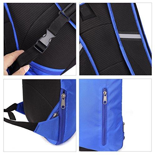 SymbolLife business Rucksack herren von leichter Bauart Notebook Laptoptasche Schulrucksack Business Reiserucksack Business outdoor Bag mit Große Kapazität, 30*45*22cm, Lila