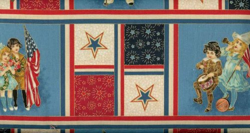 Quilting Treasures 'Young Patriots' Fourth of July Sampler Cotton ()
