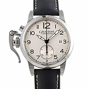 Graham Chronofighter automatic-self-wind mens Watch 2CXAS.S01A.L17S (Certified Pre-owned)