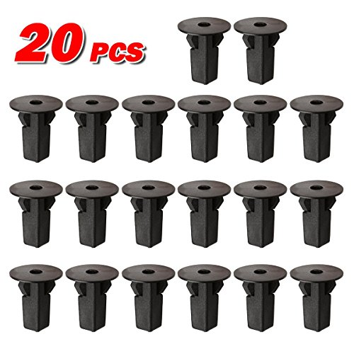PartsSquare 20pcs Fender Liner Screw Grommet Fastener Rivet Push Clips Retainer Replacement for Scion tC Replacement for Toyota Avalon Camry Venza Tacoma Solara Sienna RAV4 Prius MR2 Spyder (Mr2 Kit Spyder Toyota Body)