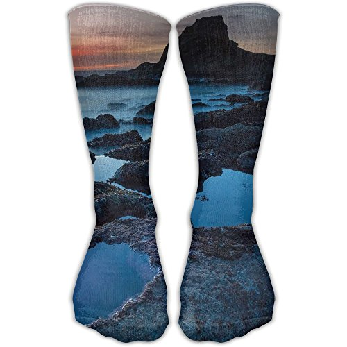 Water Official Unisex Tube Socks Crew Over The Calf Soccer Comfort Stockings For Sport And Travel