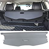 Cargo Cover Fits 2007-2013 Acura MDX | OE Style Gray Retractable Rear Cargo Security Trunk Cover Grey by IKON MOTORSPORTS | 2008 2009 2010 2011 2012