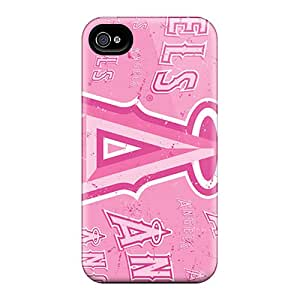 Perfect Hard Cell-phone Cases For Iphone 6 With Customized Realistic Los Angeles Angels Image JamesKrisky
