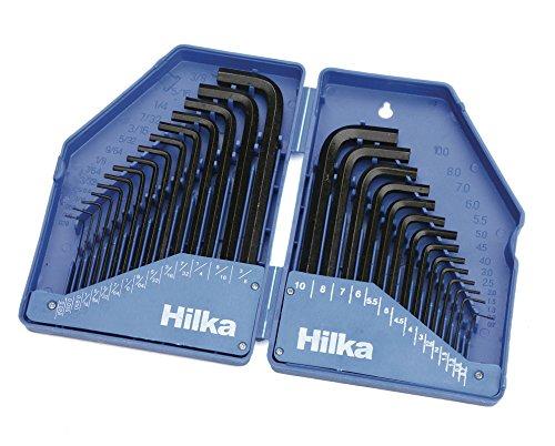 Hilka 21153003 Jeu de clé s mâ les dans é tui pliable 30 piè ces (Import Allemagne)