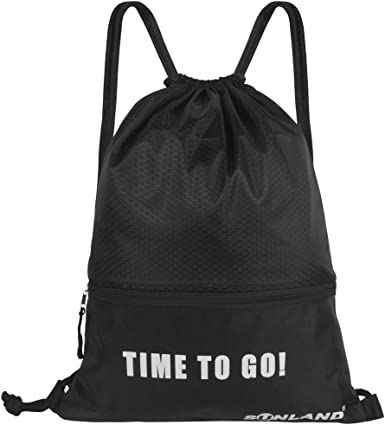 Steak White Drawstring Backpack Sports Athletic Gym Cinch Sack String Storage Bags for Hiking Travel Beach