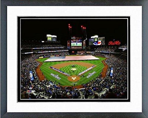 Citi Field New York Mets 2015 Mlb World Series Game 3 Photo  Size  12 5  X 15 5   Framed