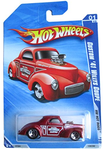 Hot Wheels Custom '41 Willys Coupe