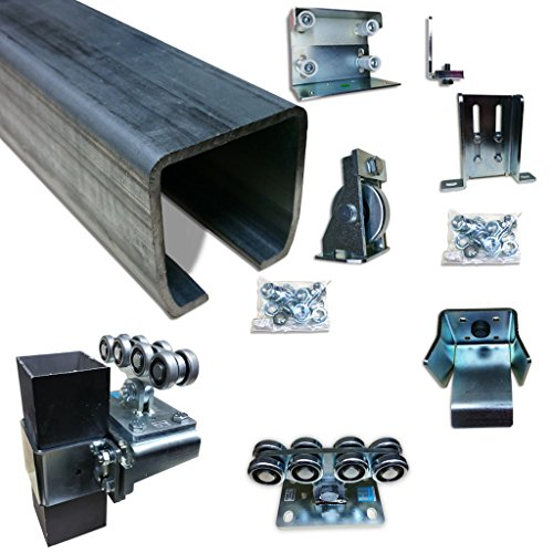 Cantilever Gate - Cantilever Slide gate Post Mount trolley rolling gate Post Mount & Truck Assembly