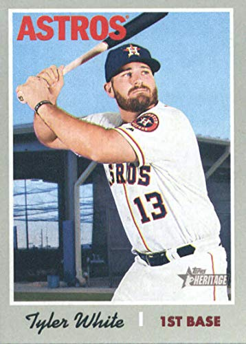 2019 Topps Heritage #272 Tyler White Houston Astros MLB Baseball Trading Card