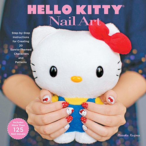 (Hello Kitty Nail Art )