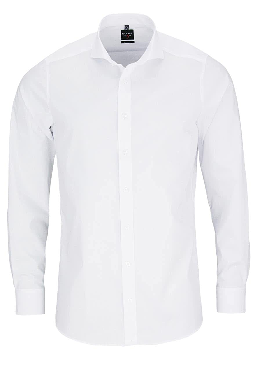 TALLA 48. Camisa para Hombre 'Level Five Body Fit' de Manga Larga