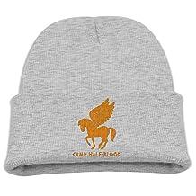 Kid's Beanie Hat Camp Half-blood Orange Vintage Skull Cap In 4 Colors
