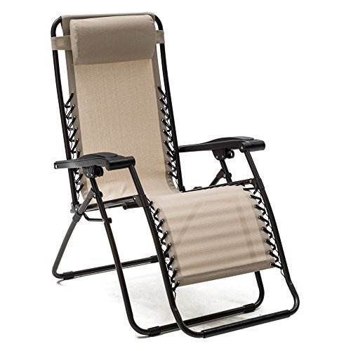 Caravan Canopy Sports Zero Gravity Chair - Toffee