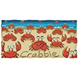 Dawhud Direct Crabbie Crab Cotton Towel