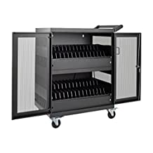 Tripp Lite 32-Port AC Charging Cart Storage Station for Chromebooks, Laptops and Tablets (CSC32AC)