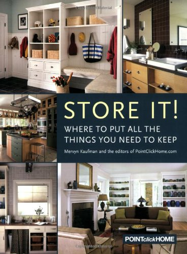 [Store It!: Where to Put all the Things You Need to Keep] (Powell Linen Cabinet)