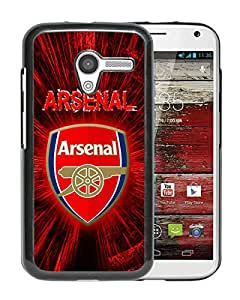 AZE Beautiful Fashion Arsenal 4 Black Case Cover For Moto X