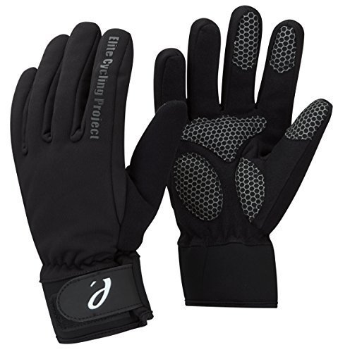 Elite Cycling Project Malmo Waterproof Winter Cycling Gloves Padded Palms Thinsulate Lined Black M