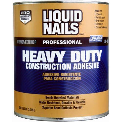 LIQUID NAILS LN-903G Heavy Duty Construction Adhesive (Low VOC) (1-Gallon)