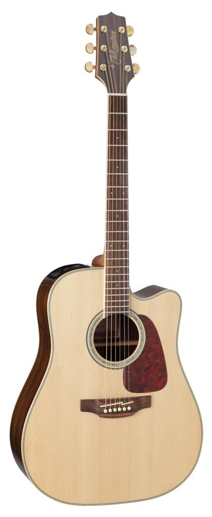 Takamine GD71CE-NAT Dreadnought Cutaway Acoustic-Electric Guitar, Natural by Takamine (Image #1)