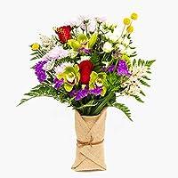 Ramo de flores naturales a domicilio variado Barcelona Style - Flores frescas - Envío a domicilio 24h GRATIS - Tarjeta…