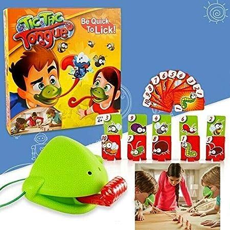 Aodure Game ávido camaleón rana camaleones codiciosos camaleones comen mosquitos y escupen Idiomas para golpear tarjetas Juegos interactivos Multijugador Tic Tac Toy Office Juego de captura de lengua: Amazon.es: Bebé
