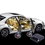 HAOHAOYUN 2Pcs Car Shadow Light,Wireless Car Welcome Lamp, Logo Laser Projector Car LED Door Warning Light, Ghost Shadow Light, Car Door Welcome Logo Light For TOYOTA (TOYOTA)