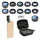 11 in 1 Cell Phone Camera Lens Kit Wide Angle Lens