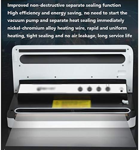 JHEY Aspiration Manuelle Appareils de Mise sous Vide Automatique en Plastique Humide et Sec Emballage Machine Non destructif Scellant Petits appareils ménagers