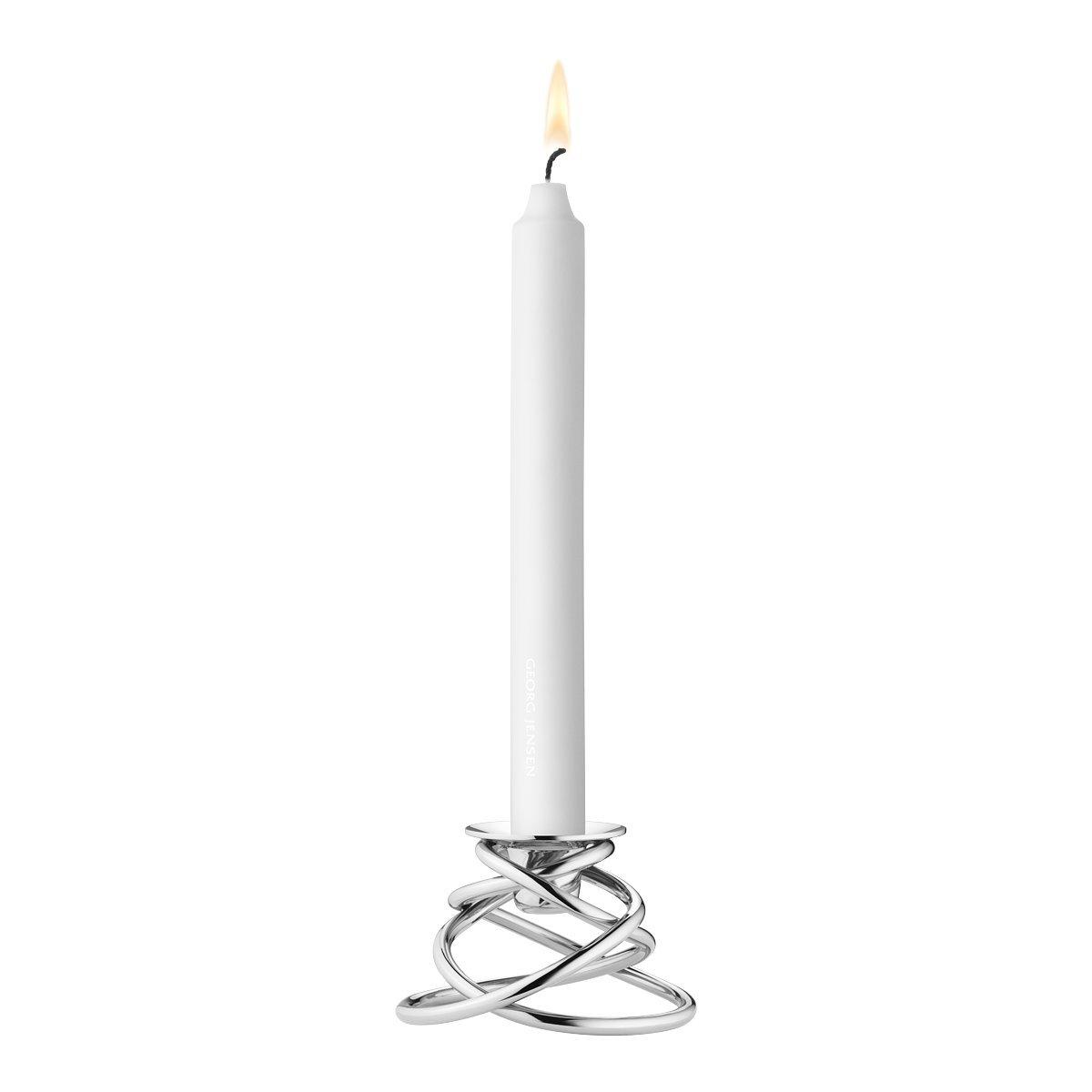 GEORG JENSEN Glow portacandela, in Acciaio Inox 3586140