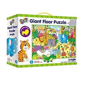 Amazon Com Galt Giant 36 Quot Floor Puzzle Jungle Toys Amp Games