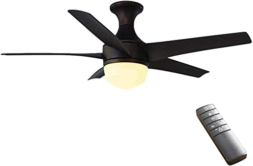 Home Decorators Collection Tuxford 44 in. LED Indoor Mediterranean Bronze Ceiling Fan